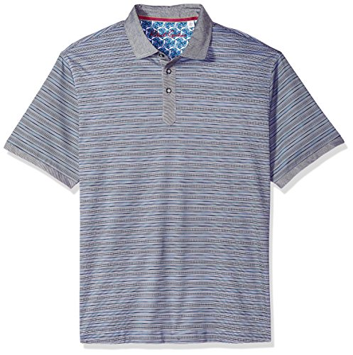 Kragen Signatur Polo (Robert Graham Herren SOTO Short Sleeve Polo Poloshirt, Multi, Mittel)