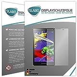 2 x Slabo Displayschutzfolie Lenovo TAB 2 A8-50F Displayschutz Schutzfolie Folie 'No Reflexion|Keine Reflektion' MATT - Entspiegelnd MADE IN GERMANY