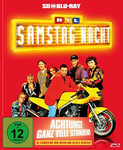 RTL Samstag Nacht - Das Beste aus allen fünf Staffeln - Limitiertes Mediabook (SD on Blu-ray)