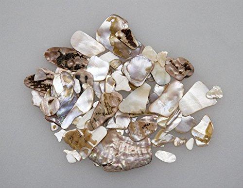ca. 2Kg Perlmuttstücke, Natur, Mineralien, Fossilien, Dekomuscheln, Gesteck, Floristik