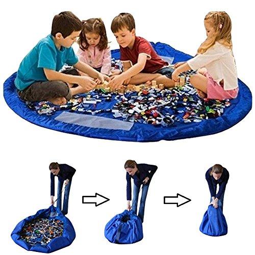 Toocoo Bolsa para Guardar Juguetes Ideal para Lego, Duplo y Juguetes p
