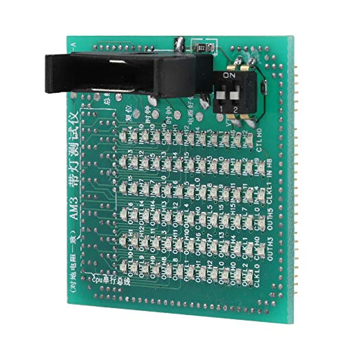 Computer-Motherboard-Tester, Testkarten-Motherboard für AMD LGA AM3 Computer-Motherboard-Sockel-Test-CPU-Analysator-Tester mit LED
