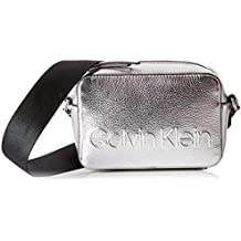 Calvin Klein Edged Camera Bag Met - Borse a tracolla Donna 2f62c45209a