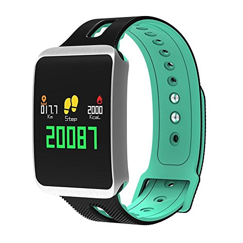 51WliIphYgL. SS500  - Fitness Tracker, Heart Rate Monitor IP68 Waterproof Smart Bracelet Pedometer Wristband for iOS & Android,OOLIFENG