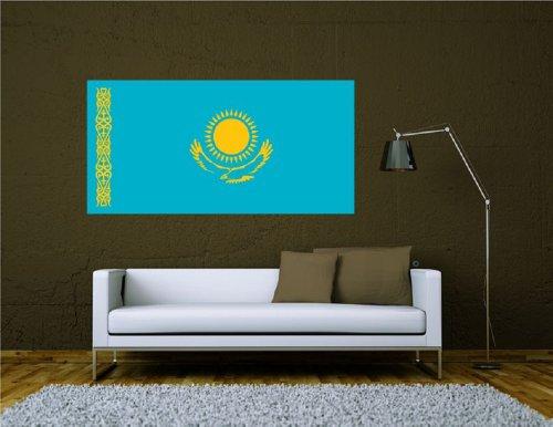 Adesivo da parete adesivi Bandiera Adesivi Kazakistan,
