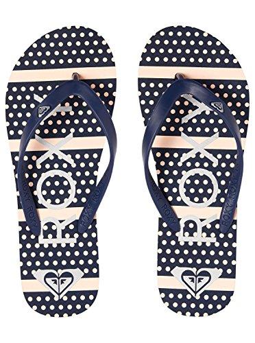 Roxy Tahiti VI, Tongs Femme Blau (Navy Strip Nsp)