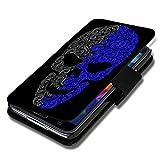 Book Style Flip Handy Tasche Case Schutz Hülle Schale Motiv Etui für Wiko Ridge Fab 4G - Flip 1A49 Design12