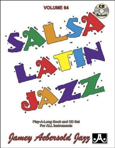 Vol. 64, Salsa/Latin Jazz Classics (Book & CD Set) (Play- a-Long) by Jamey Aebersold (1994-11-01)