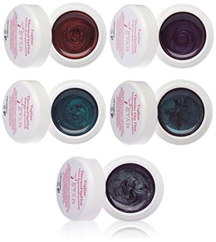 Star Naildesign & Cosmetics Topline Thermo FLip Flop Farbgel Set (5 x 5 g )