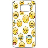 Aux Prix Canons - Etui housse coque Smiley Emoticone Samsung Galaxy S7 edge