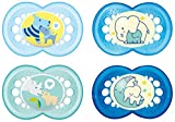 MAM Babyartikel 99970011 Day & Night Schnuller - Set 6-16 Boy