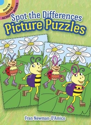 Spot the Differences Picture Puzzles (Dover Little Activity Books) por Fran Newman-D'Amico