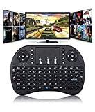 Myfizi Computer Laptop Compatible Wireless Bluetooth Touchpad Keyboard, Wireless Mini Keyboard, Air Mouse Keyboard Wireless Remote Mouse
