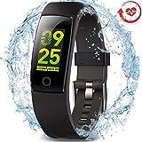 MorePro Fitness socken mit Pulsmesser,Fitness Tracker IP67 Wasserdicht blutdruckmessgerätmit Vibrationsalarm Anruf SMS Beachten für iPhone Android Handy