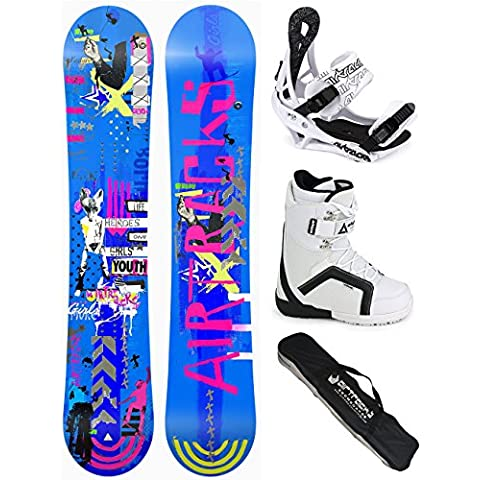 AIRTRACKS SNOWBOARD SET - TABLA BLUEBIRD MUJER 151 - FIJACIONES SAVAGE W - BOTAS STAR W 38 - SB