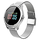 smart watch B36 Armband, Bluetooth Fitness-Tracker, Pedometer Kalorienwasserdichte Outdoor-Sport-Uhr Wecker Herzfrequenz - für Android und iOS (DREI Farben)