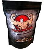 Vegan Pea Protein Isolate 1KG Pouch (Massive 80% Protein Content) - Choose From Four Great Flavours (Bonkers-Good Banana)