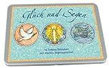 Glück und Segen - 12 Schoko-Täfelchen mit irischen Segenssprüchen