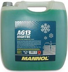 MANNOL Antifreeze AG13-40 Kühlerfrostschutz Kühlmittel, 10 Liter