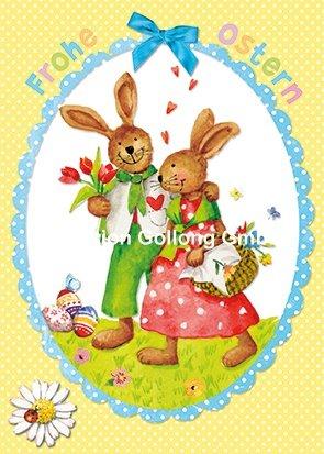 carte-postale-paques-carola-pabst-lapin-paire-paillettes-vernis