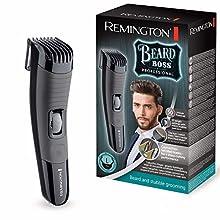 Remington MB4130 Beard Boss PRO Lame Titanio Regolabarba Professionale, batteria, 0.01