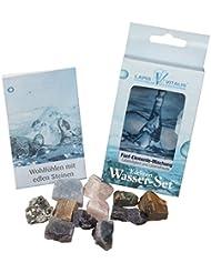 Edelstein Wasser-Set Mezcla de Piedras 5 Elementos