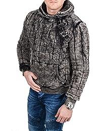 Behype - Sweat-shirt à capuche - Vintage - Homme