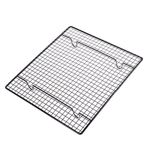 Simday 1PC 25,4x 22,9cm Edelstahl Kühlung Rack, Küche Metall Kuchengitter