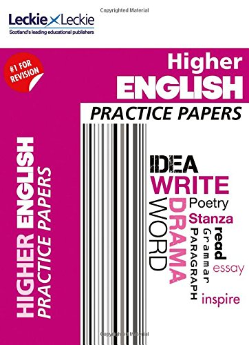 CfE Higher English Practice Papers for SQA Exams (Practice Papers for SQA Exams)