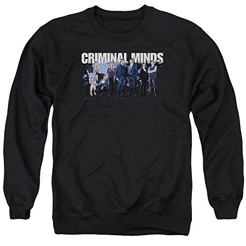 Criminal Minds FBI Drama Series Season 10 Cast Photo Adult Crewneck Sweatshirt