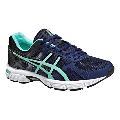 ASICS Damen Gel-Essent 2 Sneaker, blau/Mint, 40.5 EU