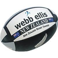huge selection of 36887 a1cf7 Webb Ellis New Zealand - Balón de rugby para hombre multicolor negro gris  Talla