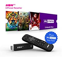 NOW TV Smart Stick with 2 month Sky Cinema Pass and Sky Sports Day Pass