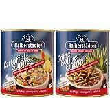 Halberstädter Grüne Bohnen-Eintopf + Halberstädter Kartoffelsuppe