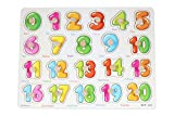 #10: GoodLuck Baybee Premium Wooden Number Puzzle 1 to 20,