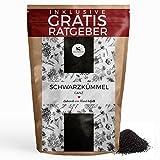 Schwarzkümmel Schwarzkümmelsamen ganz gereinigt 100g I aromatisches Küchengewürz inkl. gratis Ratgeber I Gewürz für Schwarzkümmeltee Schwarzkümmelöl