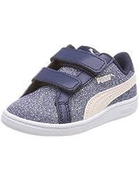 Puma - Puma scarpe bambino/bambina 917 LO V celeste tela - celeste, 22