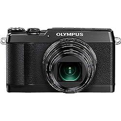 Olympus SH-1 16 MP Digital Camera (Black)