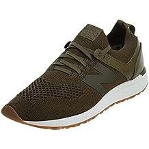 Mujer. New Balance Zapatillas 247 Lifestyle Verde/Blanco/Caramelo