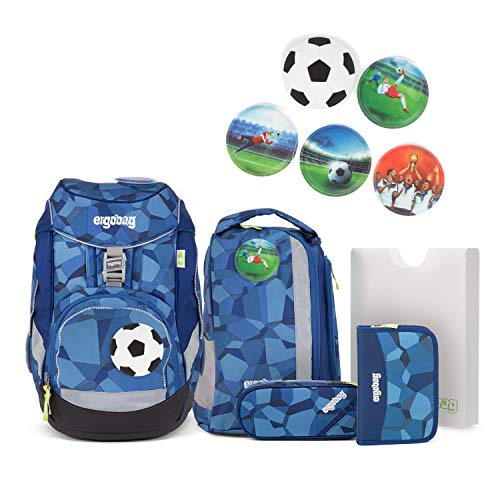 Ergobag Pack TatütaBär - Set zaino per la scuola, 6 pezzi Disponibile in diversi modelli.