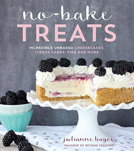 No Bake Treats: Incredible Unbaked Cheesecakes, Icebox Cakes, Pies and More por Julianne Bayer