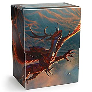 Arcane Tinmen APS ART31621No Shield: Deck Shell Crimson Dragon LOGI–Limited Edition