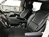 seatcovers by k-maniac Sitzbezüge Fahrersitz Beifahrersitz Armlehnen Design T40 schwarz
