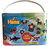 Enlarge toy image: Hama 10.202-67DE 10000 Beads and Pegboards in Bucket -  preschool activity for young kids