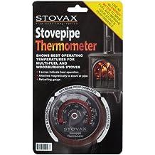 Stovax - Indicador de temperatura para estufas y chimeneas