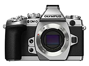 Olympus OM-D EM-1 Compact System Camera - Silver (16.3MP) 3.0 inch Tiltable Touch Screen LCD