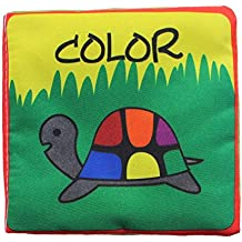 VANKER infantil del bebé libro desarrollo de la inteligencia del juguete del aprendizaje cognize los colores