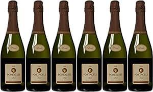 Portacelli Brut Sparkling Wine Cava NV 75 cl (Case of 6)