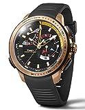 Timex Orologio Cronografo Quarzo Uomo con Cinturino in Gomma TW2P44400