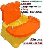 #7: Trugoods Baby Booster Seat/Swing Multipurpose Kids Feeding High Chair